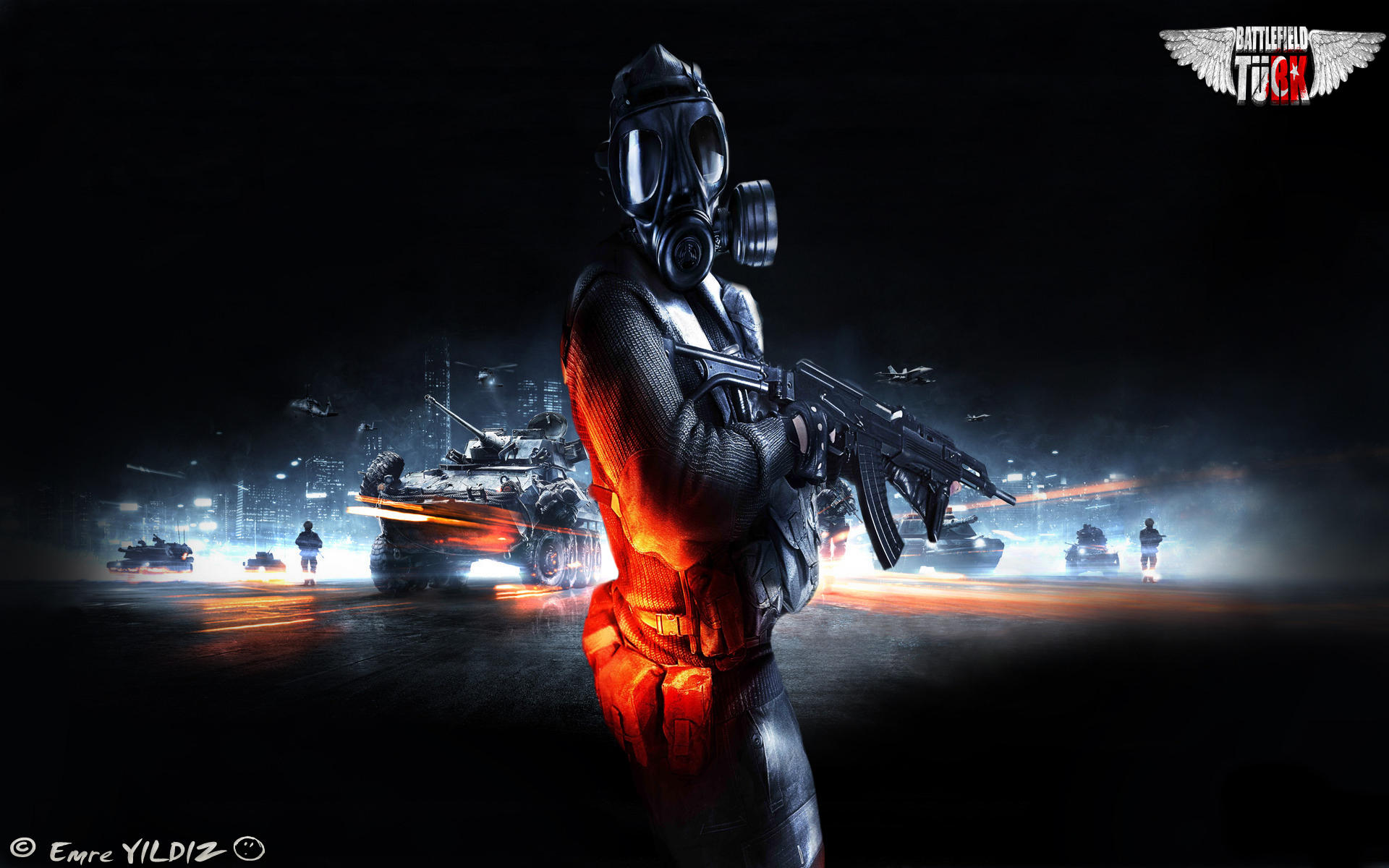 battlefield 3 wallpaper+pngunarmedhero on deviantart