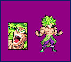 Broly Full Power- SWL sprite sheet preview