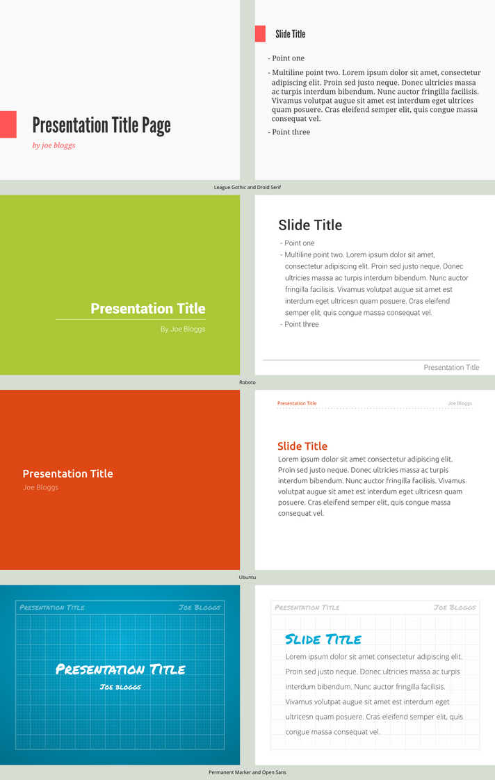 Presentation template concepts by spiceofdesign on deviantart presentation template concepts by spiceofdesign toneelgroepblik Image collections
