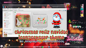 Merry Christmas  ~ Iconpackager theme by AlekSakura
