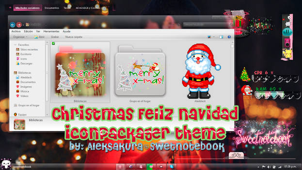Merry Christmas  ~ Iconpackager theme