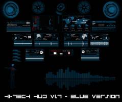 Hi-Tech HUD (BLUE) by hekee