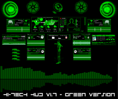 Hi-Tech HUD (GREEN) by hekee