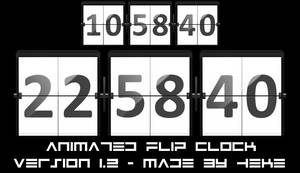 Animated Flip Clock