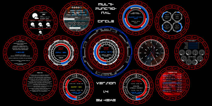 Multifunctional Circle by hekee