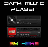 Dark Music Player