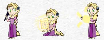 Rapunzel Shimeji Braided By Dinosaurbarbecue On Deviantart