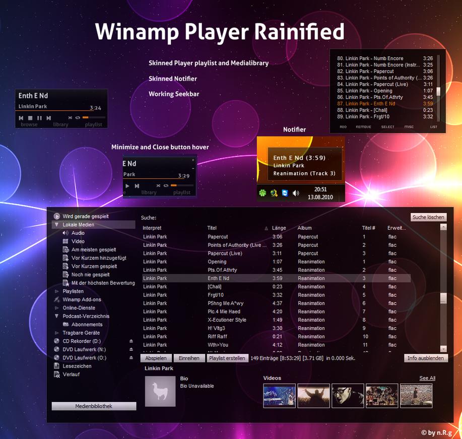 Rainify Winamp by Shinizzle92
