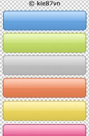My 1st PSD button