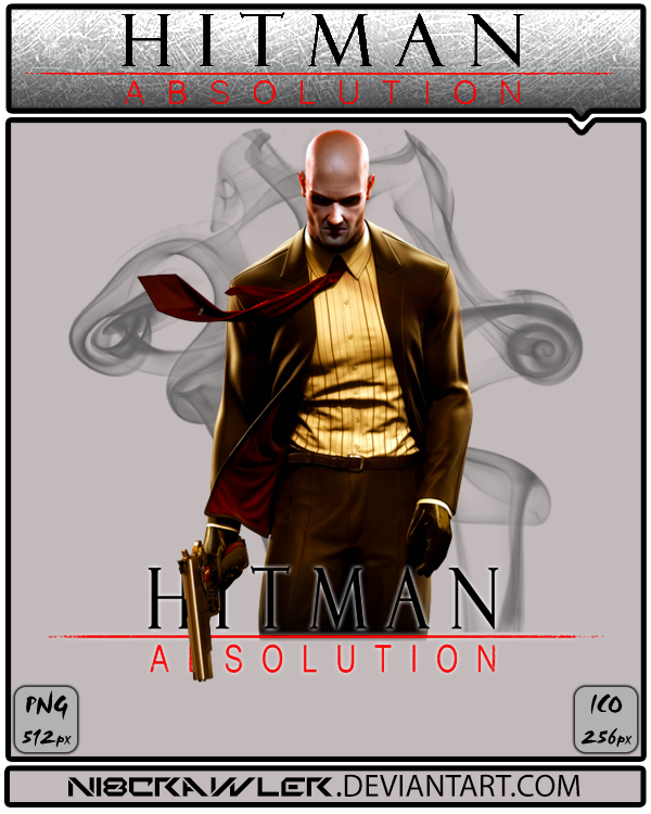 HITMAN ABSOLUTION ICON v3 by Ni8crawler
