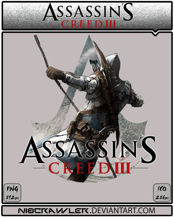 Assassin's Creed 3 Icon v5 by Ni8crawler
