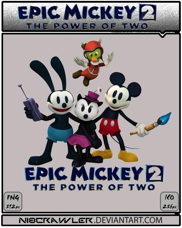 Epic Mickey 2 Icon v2 by Ni8crawler