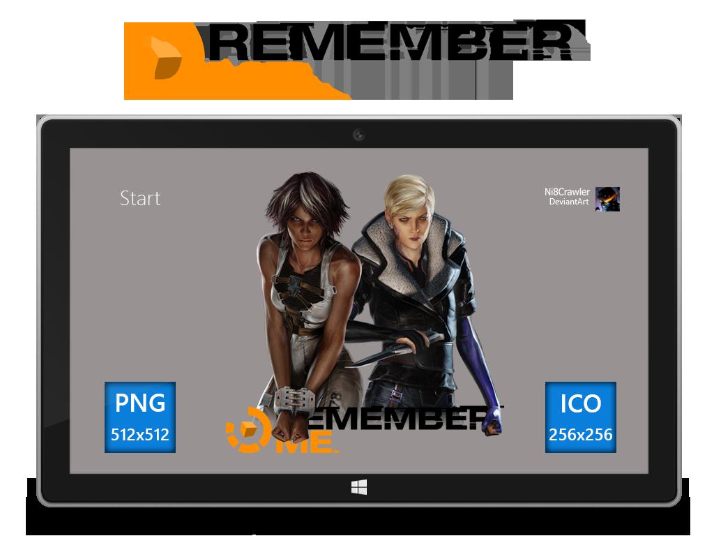 Remember Me Icon v2 by Ni8crawler