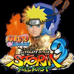 Naruto Shippuden Ultimate Ninja Storm 3 Icon