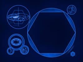 TARDIS Monitor Wallpaper