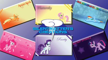 Mane Six Wallpaper Pack (Set 1)