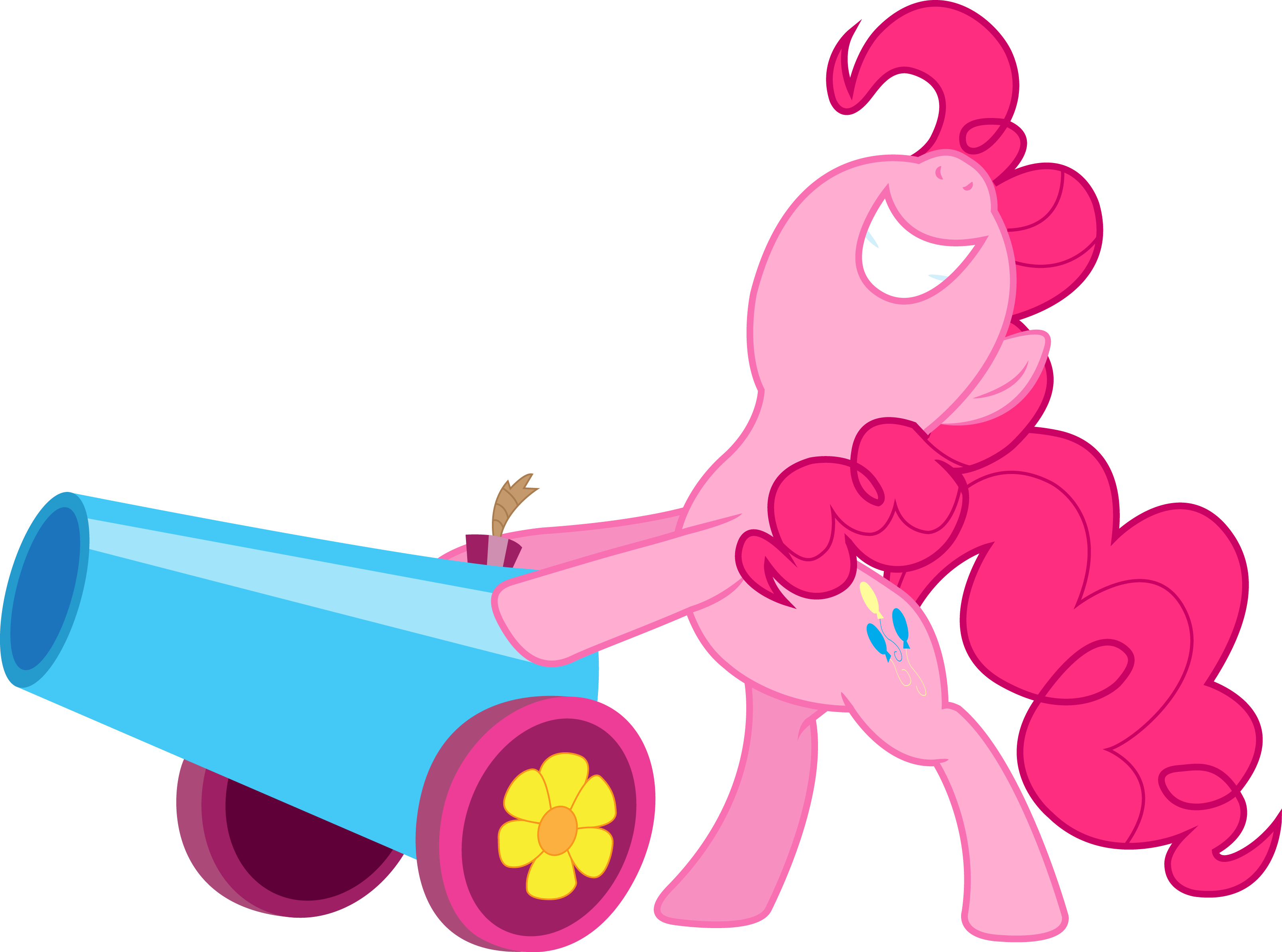 Pinkie Pie Party Cannon by Silentmatten