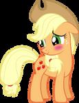 Blushing Applejack