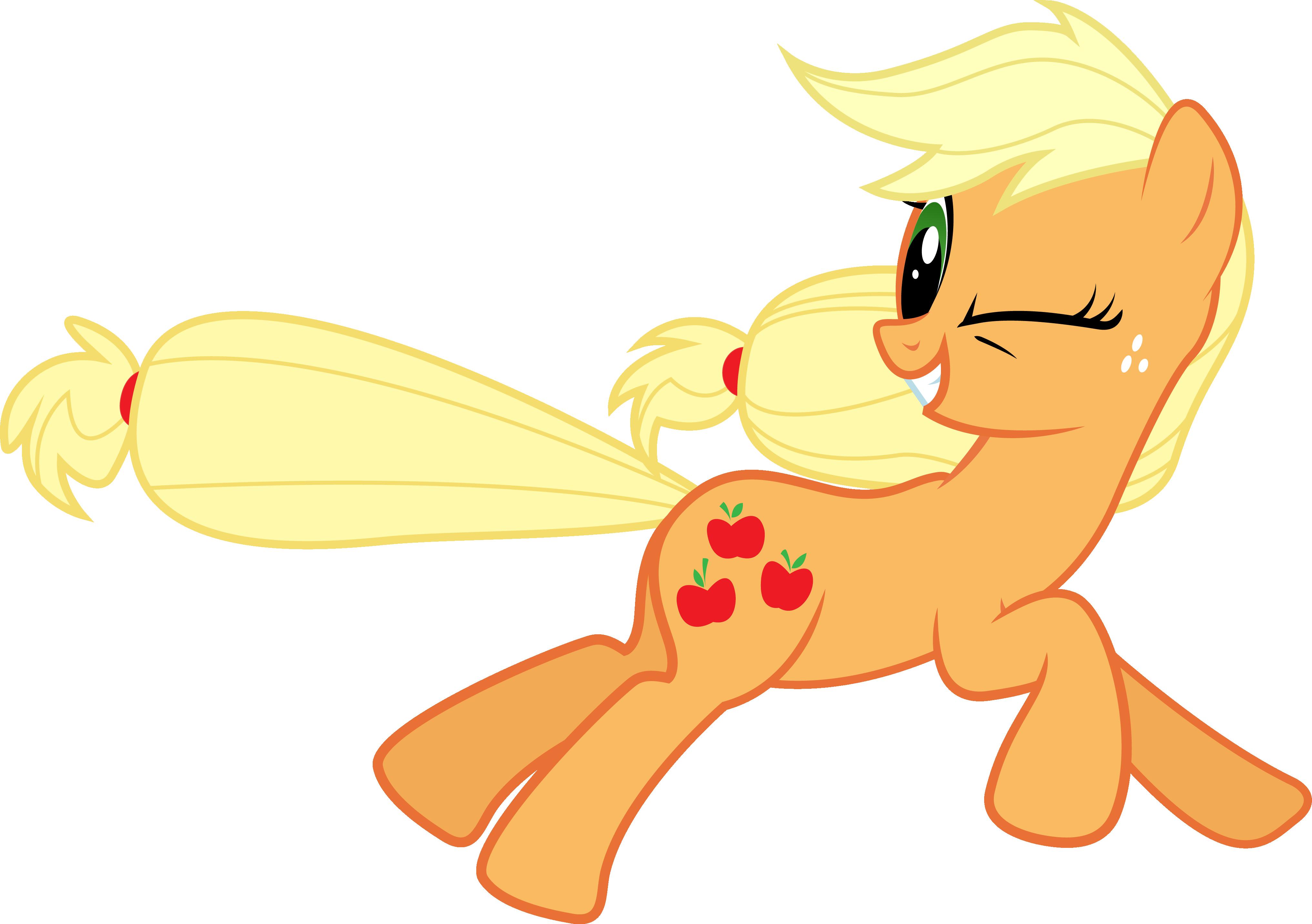 Running Applejack