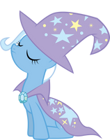 Trixie W/ Cape and Hat by Silentmatten