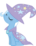 Trixie W/ Cape and Hat