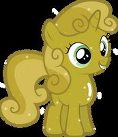 Golden Sweetie Belle by Silentmatten