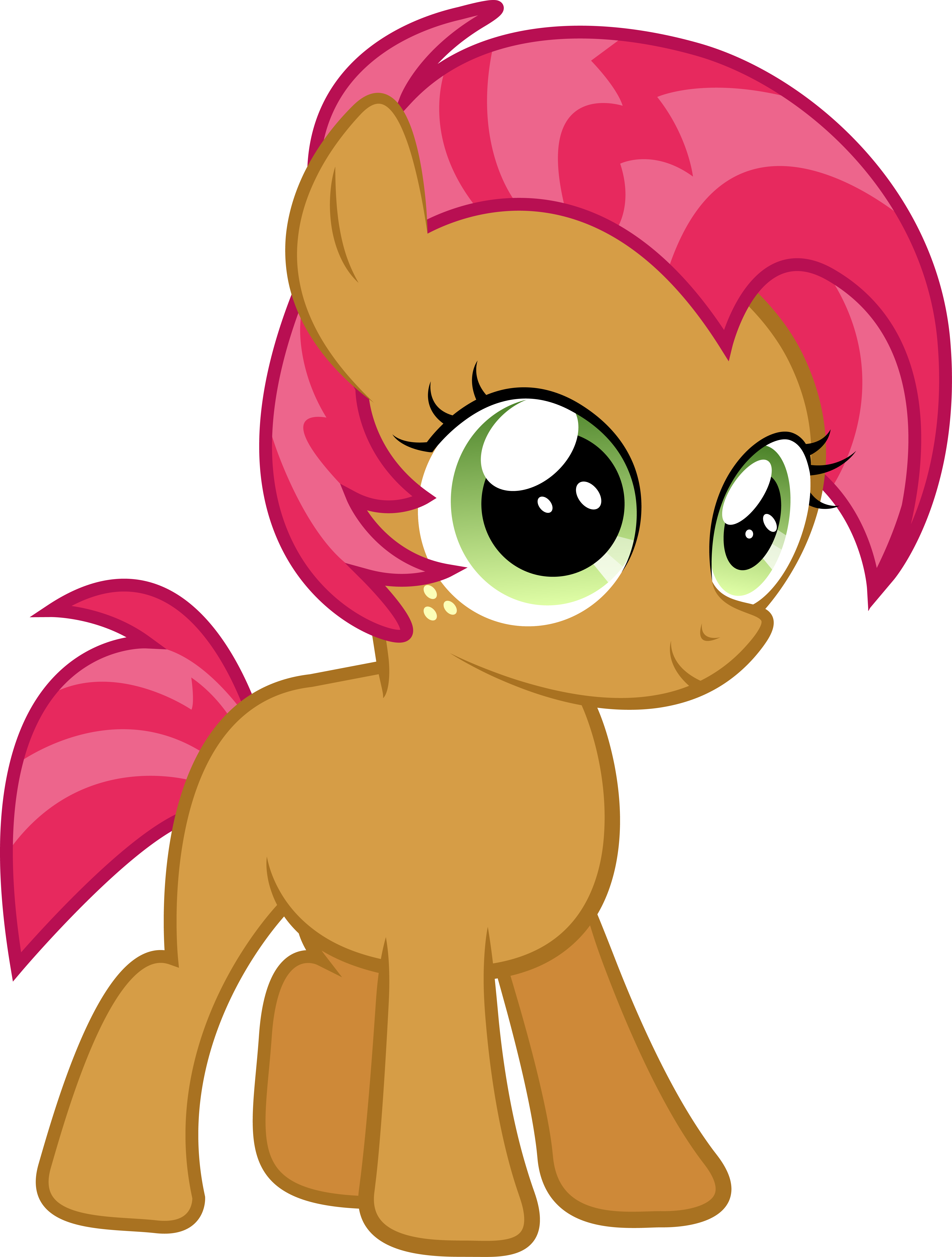 seed 3 seed red litlle pony my little pony marks crusaders pony