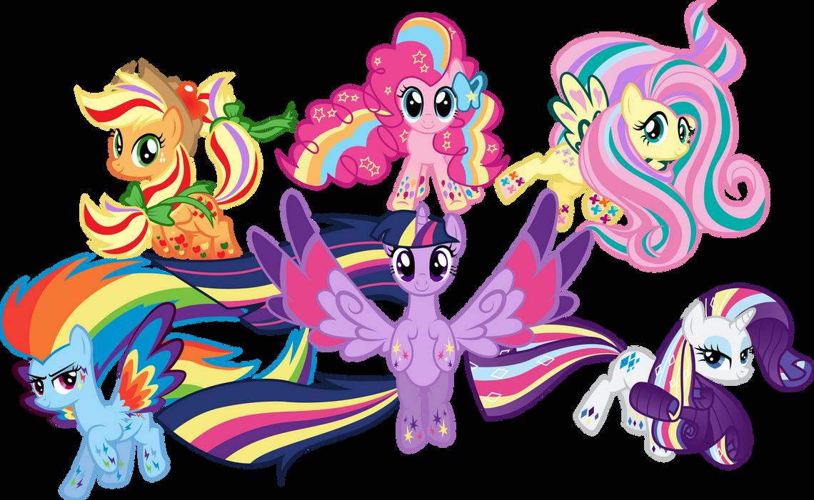 Rainbow Power by Silentmatten