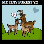 Tiny Forest Interactive - V.2 by Lime-Sodah