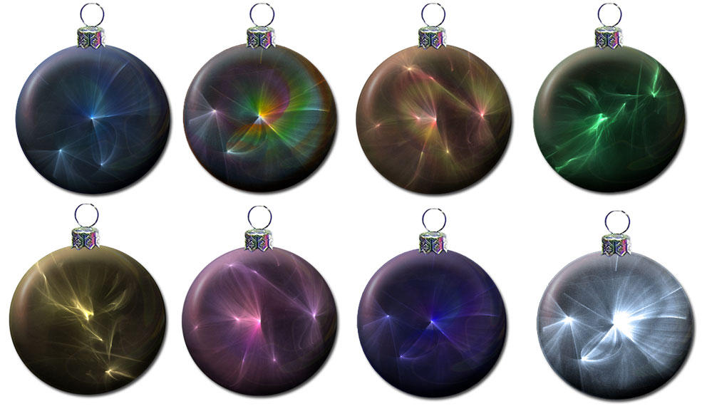 Christmas tree balls  PNG by aswad-hajja