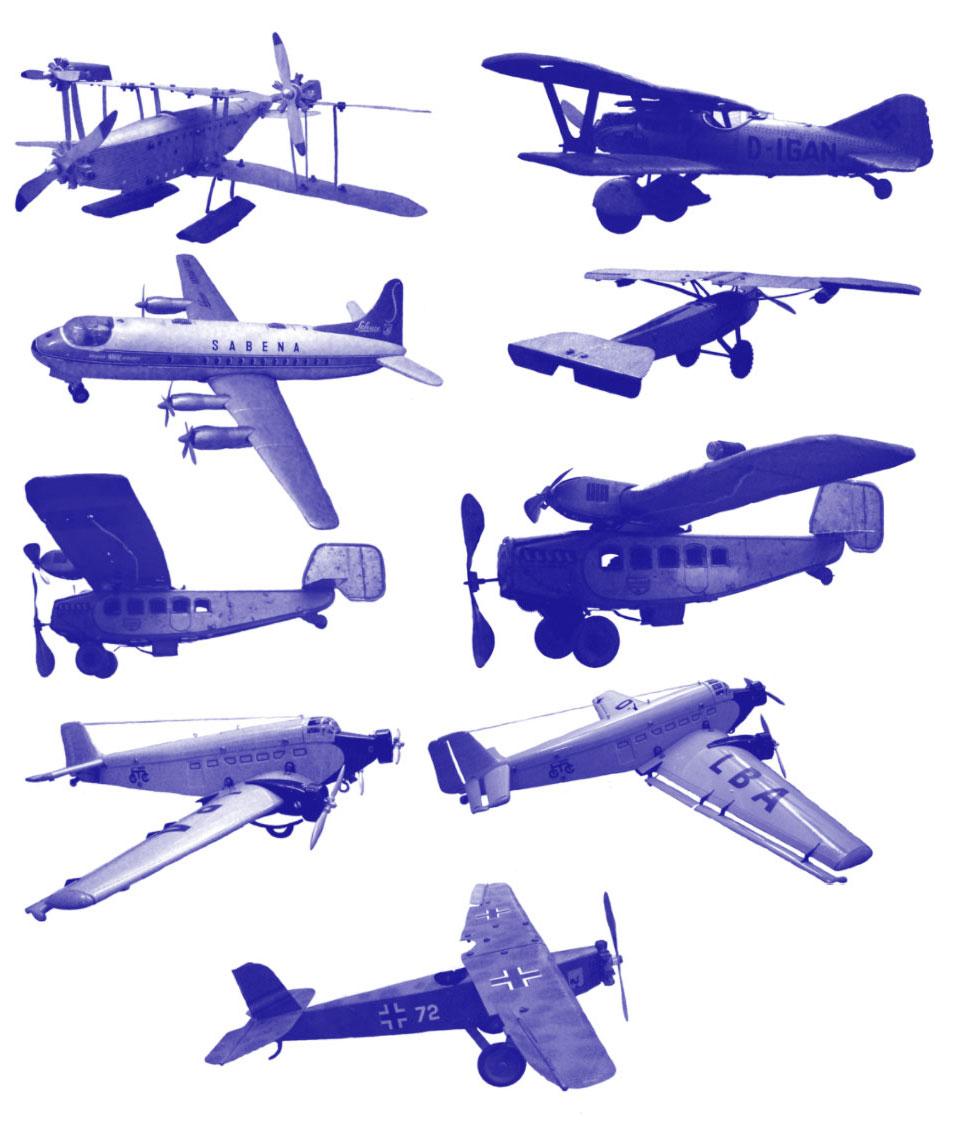 toy-airplane-brushes Photoshop