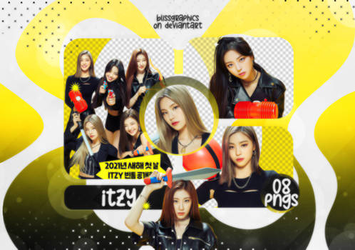 PNG Pack #060 - ITZY (Naver Now)