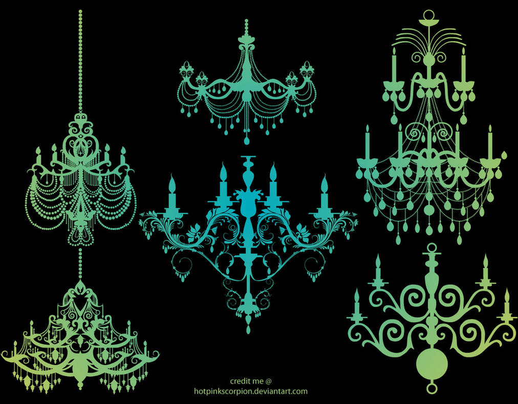 chandelier by hotpinkscorpion