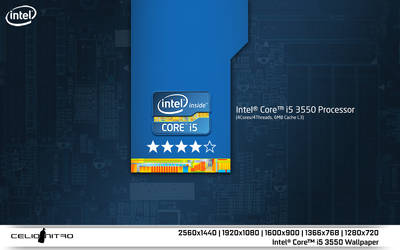 Intel Core i5 3550 Wallpaper 01 by 18cjoj