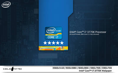 Intel Core i7 3770K Wallpaper 01 by 18cjoj