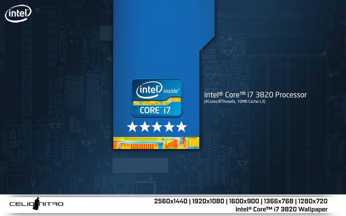 Intel Core I7 3820 Wallpaper 01 By 18cjoj On Deviantart