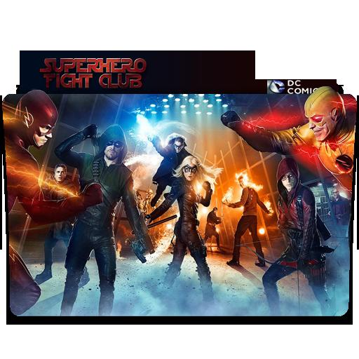 superhero fight club folder icon by nialixus on deviantart