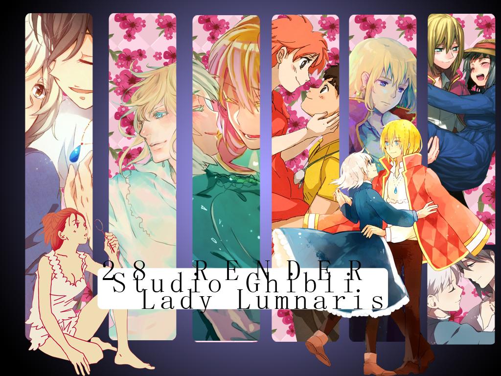 Studio Ghibli Render Pack