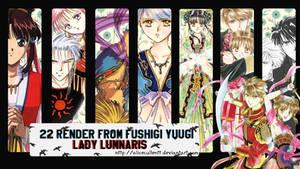 Fushigi Yuugi Render Pack