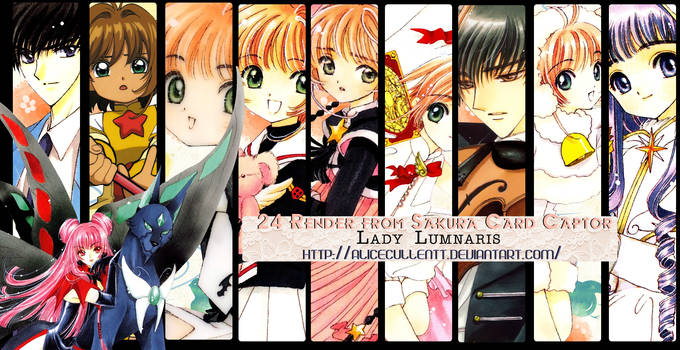 Card Captor Sakura Render Pack