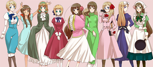 That Time Of The Month Hetalia Girls Reader By