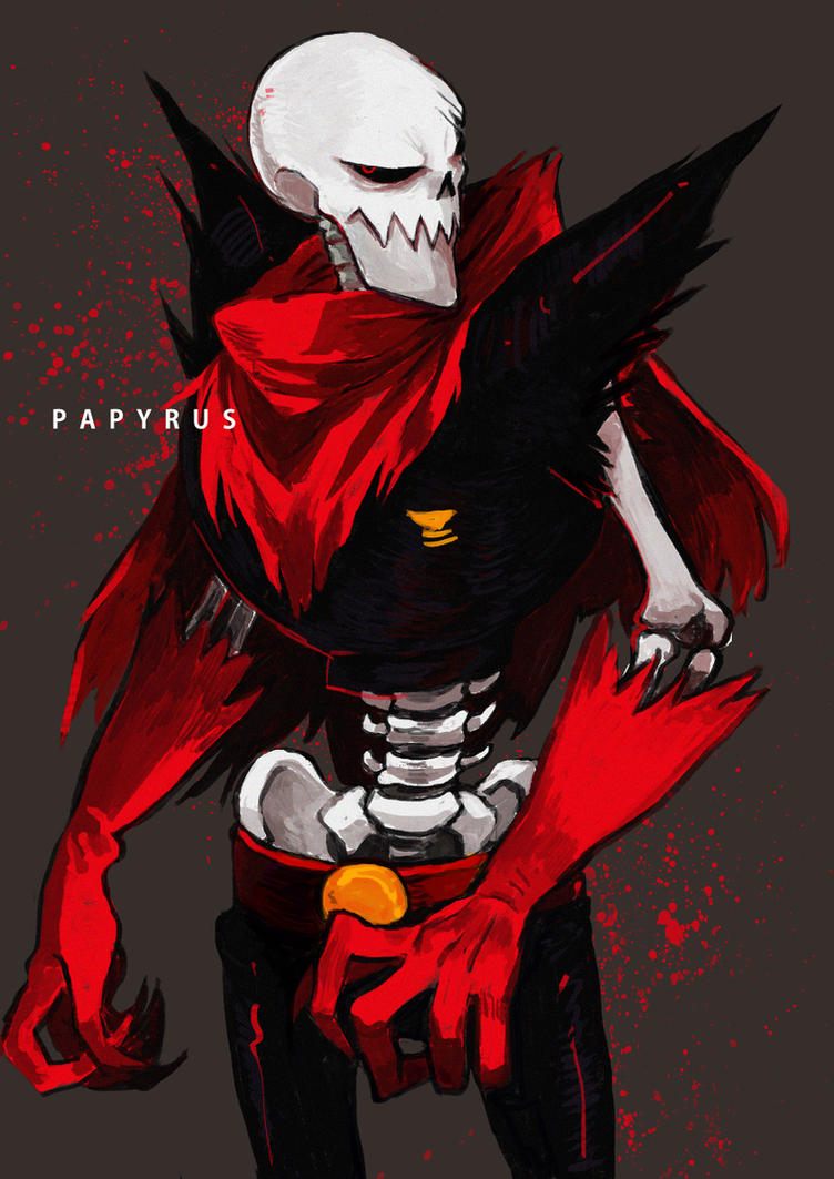 Anime Characters Pregnant Reader : Underfell papyrus pregnant reader by animelover on