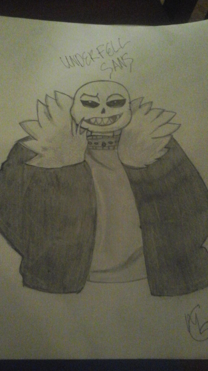 underfell sans x reader *lets go swimming* by animelover1014