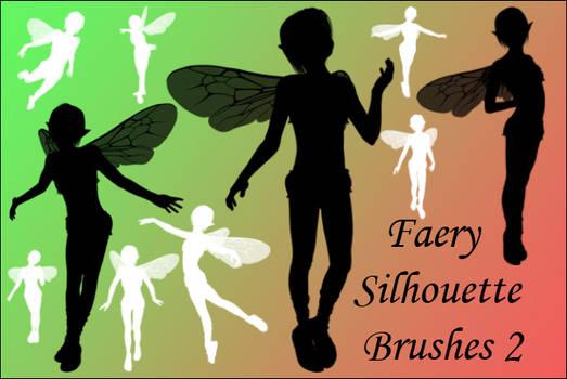 Faerie Silhouette Brushes 2