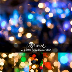 Bokeh Pack 1 by joannastar-stock