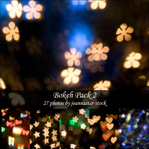 Bokeh Pack 2 by joannastar-stock