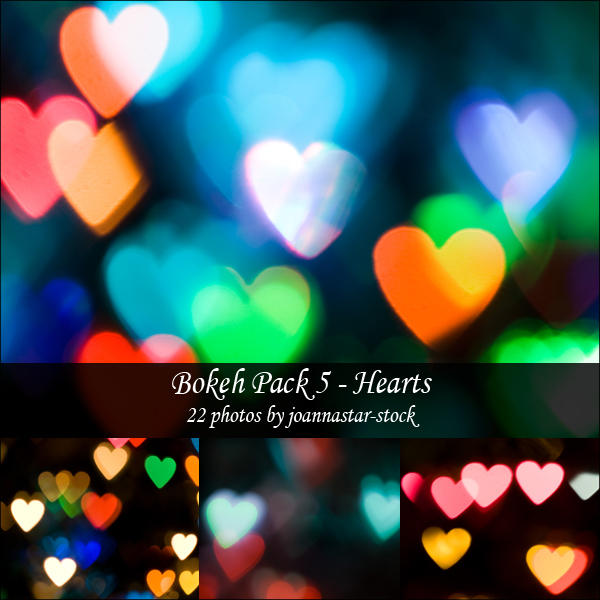 Bokeh Pack 5 by joannastar-stock