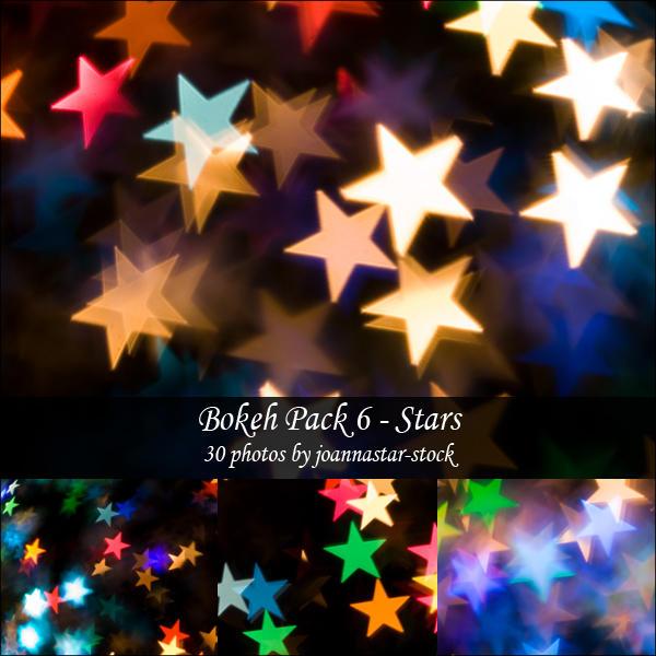 Bokeh Pack 6 by joannastar-stock