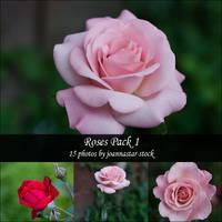 Roses Pack 1 by joannastar-stock