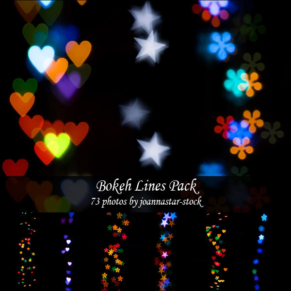 Bokeh Lines Pack by joannastar-stock